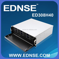 ED308H40-C Ultra Compact 3U Server Case With Hot Swap 8 Bay for NAS