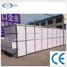 CE industrial onion paper belt hot air dryer /drying machine/drying equipment on price