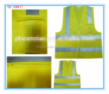 Safety Vest with Pockets high qualtiy for custom