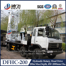 small truck mounted portable water well drilling rigs for sale