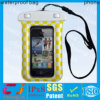 Outdoor sports pvc waterproof cell phone bag with string