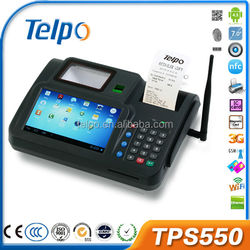 Android OS Pos Terminal TPS550 Mobile GPRS Payment Pos Terminal with NFC Reader Wifi Bluetooth Thermal Printer 3G