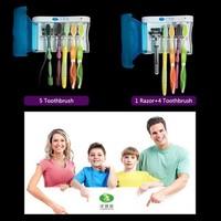 New UV Ultraviolet Family Toothbrush Sanitizer Sterilizer Cleaner Storage Holder