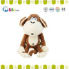 In 2015, the latest cozy plush doll toys.Q Meng mouth monkey backpack