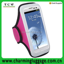 neoprene mobile phone armband case for sumsung