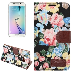 Cheap Price PU Leather leather case pouch for galaxy s6 edge