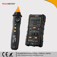 MS6816 Track Wire Type RJ45 RJ11 Other Metal Wire Test Multifunction Cable Detector with DC Level Test
