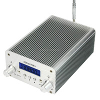 1W / 6W PLL FM Transmitter Mini Radio Stereo Station Broadcast + Power + Antenna