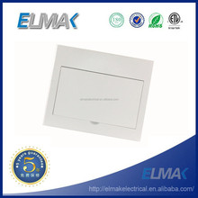 ABS/PC 12way flush mounted electrical distribution box/optional MCB distribution box