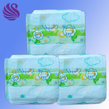 China PE film baby diaper nappy made in China