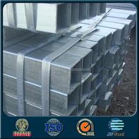 High property support solar panel galvanized steel rectangular pipe price