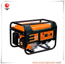 2kW single phase completely cooper wires petrol portable generator