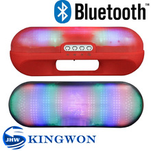 Kingwon XL Pill wireless LED portable bluetooth music receiver bluetooth speaker