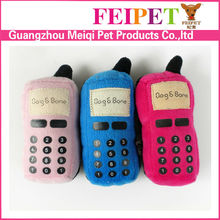 Cellphone shaped dog chew toys cute design pet toy for dog