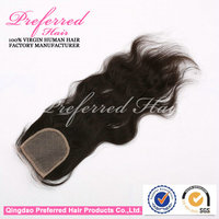 Factory price Malaysian human virgin hair silk top lace front closure piece