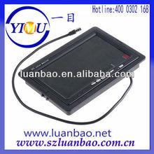 7 inch car back up BEST DISTINCT BIG monitor with wide voltage 12-24v