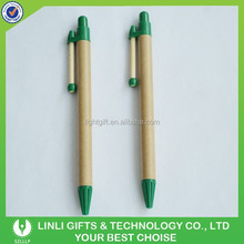 Favorable Price Eco- Friendly Paper-Recycled Pencil-shaped Ballpoint Pen
