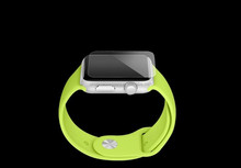 New product high adhesive strength anti-fingerprint matte screen protector for apple watch