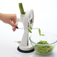 new Free-standing Bean Slicer pepper cooking tools as seen as on tv hot sale for 2015