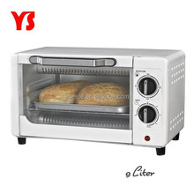 9L electric bakery oven prices with bake tray and wire rack