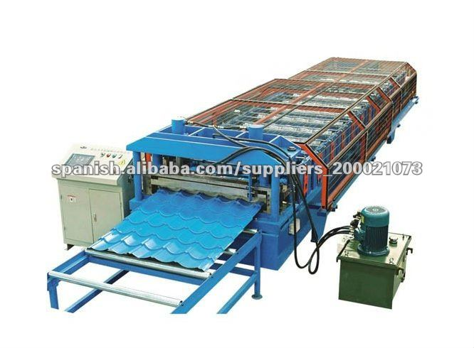 acanaladora de láminas para techos metálicos