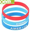 silicone bracelet reflective,custom design rubber bracelet bulk