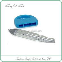 Hot selling stationery ballpoint plastic key ball pen