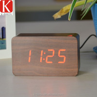Top selling wooden desktop antique french clock for decoration