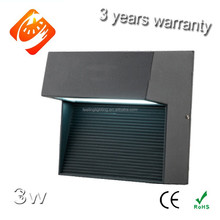 High quality factory on sale 3W 4W outdoor CE led wall pack light ip65 for house&garden