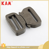High grade quick connect alloy metal side release buckle