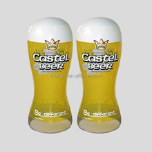 plastic inflatable castel beer for advertising