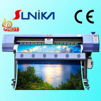 Chinese JV33 high speed piezo inkjet printer with large format