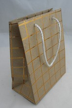 Special Glittering Paper Bag with Sliver Stamping Logo