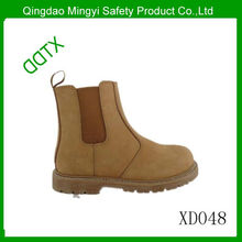 DDTX-XD048 Slip-on suede safety boot