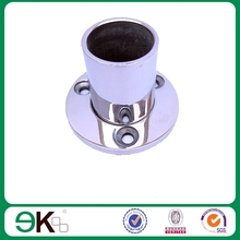 Pool fence stainless steel round post base/base plate/handrail base plate