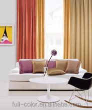 Luxury Princess Living Room Window Flame Retardant Curtains Fabric