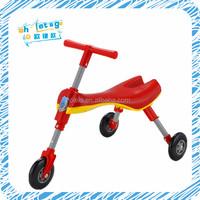 Folding aqua scooter three wheel baby ride on toy
