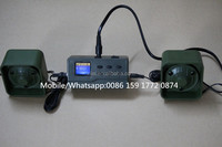 good quality desert hunting machine 390B hunting equipments bird repellent device with 35w 125dB mp3 player speaker