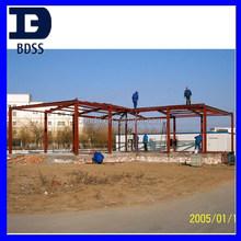 living prefab steel house / warehouse / villa