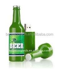 PVC beer usb flash