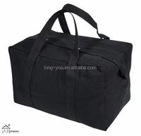 Black Parachute Cargo Bag Wholesale Cotton Tote Bag