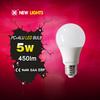 High luminous efficacy led bulb lamp 3w 5w 7w 9w 12w