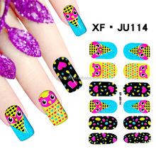 Bling bling nail sticker, Wholesale nail sticker glitter nail art