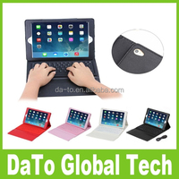 For ipad Air Mini Stand PU Leather Silicon Wireless Bluetooth Keyboard Smart Cover Cases