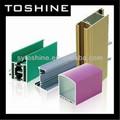 competitivo precio de perfil de aluminio extruido para muebles desde el fabricante