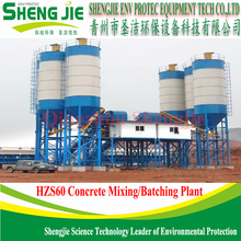 New Condition HZS 60 Concrete Batching Plant For Export