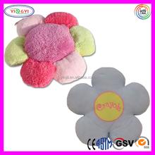 D504 Soft Flower Plush Rugs Stuffed Flower Shaped Rug