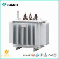 Wenzhou Yueqing best manufacturer 11kV 22kV 33kV 50Hz 400V 415V 10kVA to 20mVA three phase oil type power transformer