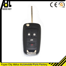 ABLCS black universal remote controller key fob for chevrolet plastic case car key button