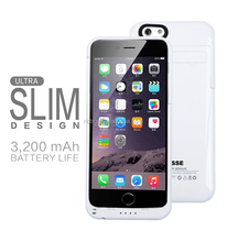 Rechargeable Ultra-slim 3200mAh Backup Battery Charger Case for IPHONE6